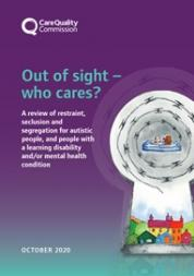 report looks at the use of restraint, seclusion and segregation in care services for people with a mental health condition, a learning disability or autistic people.